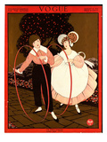 Vogue Cover - August 1914 Regular Giclee Print by George Wolfe Plank