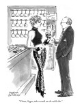 """C'mon, Sugar, take a walk on the mild side."" - New Yorker Cartoon Premium Giclee Print by Marisa Acocella Marchetto"
