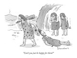 """Can't you just be happy for them?"" - New Yorker Cartoon Premium Giclee Print by Danny Shanahan"