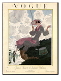 Vogue Cover - June 1923 Regular Giclee Print by Pierre Brissaud