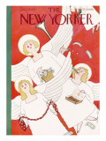 The New Yorker Cover - December 24, 1932 Regular Giclee Print by Rea Irvin