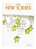The New Yorker Cover - October 22, 1979 Regular Giclee Print by Arnie Levin