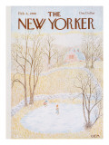 The New Yorker Cover - February 4, 1980 Premium Giclee Print by Charles E. Martin