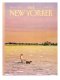 The New Yorker Cover - June 16, 1986 Premium Giclee Print by Susan Davis