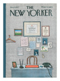 The New Yorker Cover - January 24, 1977 Premium Giclee Print by Pierre LeTan