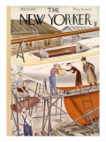 The New Yorker Cover - May 9, 1936 Premium Giclee Print by Constantin Alajalov