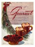 Gourmet Cover - December 1943 Regular Giclee Print by Henry Stahlhut