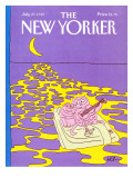 The New Yorker Cover - July 27, 1987 Premium Giclee Print by Arnie Levin