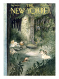 The New Yorker Cover - July 10, 1954 Premium Giclee Print by Mary Petty