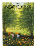 The New Yorker Cover - June 20, 1959 Premium Giclee Print by Edna Eicke