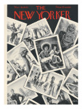 The New Yorker Cover - March 10, 1945 Premium Giclee Print by Constantin Alajalov