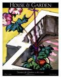 House & Garden Cover - June 1925 Regular Giclee Print by Bradley Walker Tomlin