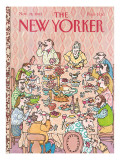 The New Yorker Cover - November 28, 1983 Premium Giclee Print by William Steig