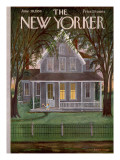 The New Yorker Cover - June 30, 1956 Premium Giclee Print by Edna Eicke
