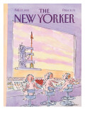 The New Yorker Cover - February 17, 1992 Premium Giclee Print by James Stevenson