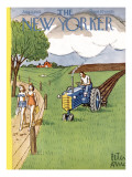 The New Yorker Cover - August 2, 1952 Premium Giclee Print by Peter Arno
