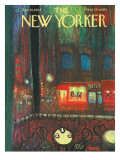The New Yorker Cover - January 26, 1963 Premium Giclee Print by Robert Kraus