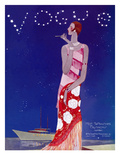 Vogue Cover - July 1926 - Flapper Nights Premium Giclee Print by Eduardo Garcia Benito