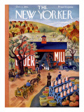 The New Yorker Cover - October 4, 1941 Regular Giclee Print by Ilonka Karasz