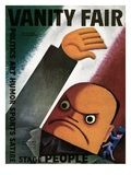 Vanity Fair Cover - October 1932 Premium Giclee Print by Miguel Covarrubias