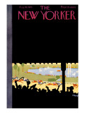 The New Yorker Cover - August 10, 1929 Regular Giclee Print by Theodore G. Haupt