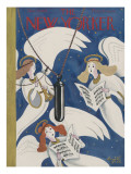 The New Yorker Cover - December 22, 1934 Regular Giclee Print by Arnold Hall