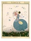 Vogue Cover - July 1916 Regular Giclee Print by Helen Dryden
