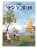 The New Yorker Cover - June 29, 1992 Premium Giclee Print by Pamela Paparone