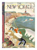 The New Yorker Cover - August 28, 1937 Premium Giclee Print by Bela Dankovszky