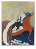 Vogue - March 1921 Regular Giclee Print by George Wolfe Plank