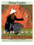 House & Garden Cover - February 1916 Regular Giclee Print by Ruth Easton