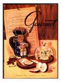 Gourmet Cover - October 1945 Regular Giclee Print by Henry Stahlhut