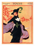 Vogue Cover - November 1912 Regular Giclee Print by Helen Dryden
