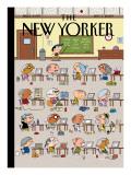 The New Yorker Cover - September 7, 2009 Regular Giclee Print by Ivan Brunetti