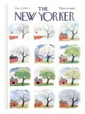 The New Yorker Cover - December 28, 1963 Premium Giclee Print by Garrett Price