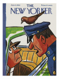 The New Yorker Cover - June 4, 1960 Premium Giclee Print by Peter Arno