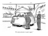 """It's only emission is water vapor."" - New Yorker Cartoon Premium Giclee Print by Tom Cheney"