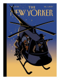 The New Yorker Cover - December 3, 2007 Regular Giclee Print by Christoph Niemann