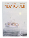 The New Yorker Cover - October 4, 1969 Regular Giclee Print by Albert Hubbell