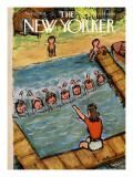 The New Yorker Cover - August 21, 1954 Premium Giclee Print by Abe Birnbaum
