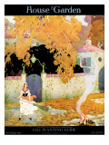 House & Garden Cover - October 1916 Regular Giclee Print by  The Reeses
