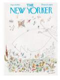 The New Yorker Cover - September 9, 1961 Regular Giclee Print by Saul Steinberg