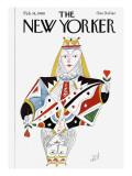 The New Yorker Cover - February 18, 1980 Regular Giclee Print by Paul Degen