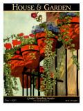House & Garden Cover - June 1927 Regular Giclee Print by Ethel Franklin Betts Baines