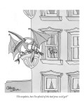 """I'd complain, but I'm afraid of the bad press we'd get!"" - New Yorker Cartoon Premium Giclee Print by Gahan Wilson"