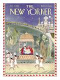 The New Yorker Cover - February 15, 1958 Regular Giclee Print by Anatol Kovarsky