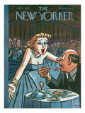 The New Yorker Cover - June 5, 1954 Premium Giclee Print by Peter Arno