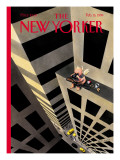 The New Yorker Cover - February 15, 1999 Premium Giclee Print by Ian Falconer