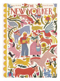 The New Yorker Cover - August 19, 1944 Premium Giclee Print by Ilonka Karasz