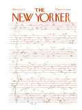 The New Yorker Cover - December 15, 1975 Premium Giclee Print by James Stevenson